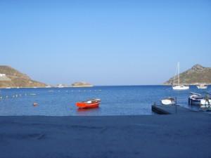 Grikos bay mooring